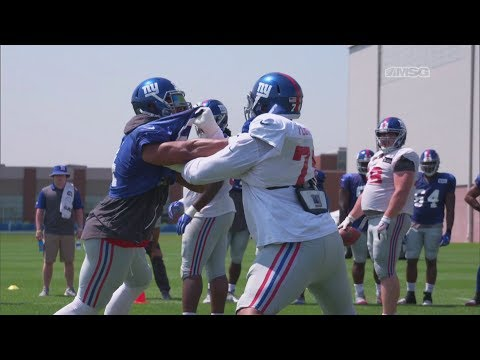 Can DJ Fluker & Ereck Flowers Stabilize the New York Giants Offensive Line? | MSG Networks