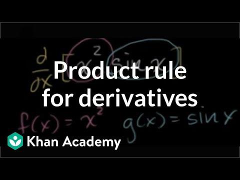Product rule | Derivative rules | AP Calculus AB | Khan Academy