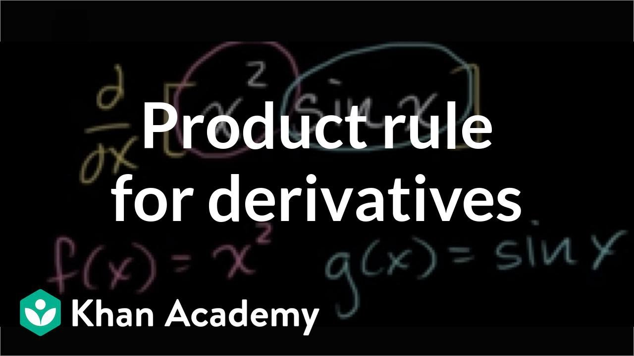 Product rule (video) | The product rule | Khan Academy
