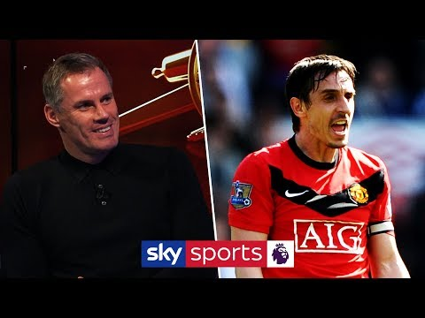 Will Jamie Carragher pick Gary Neville in his Man Utd & Arsenal combined All Time XI?