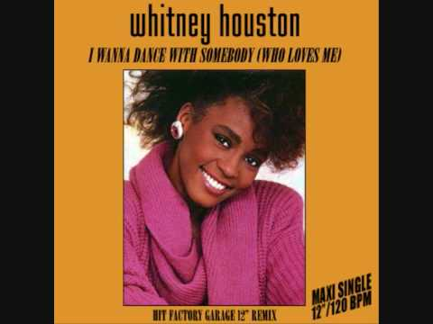 "Whitney Houston - I Wanna Dance With Somebody (Hit Factory Garage 12"" Remix) PWL"