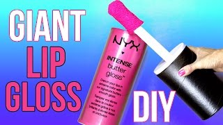 DIY Crafts: How To Make A Giant NYX Lip Gloss - DIYs Storage Idea or Gift Box - Cool DIY Project thumbnail