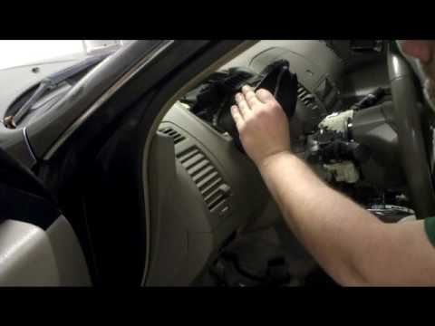 Remove And Install The Complete Instrument Cer On 2005 Nissan Altima You
