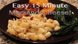 442- @whoissugar 15 Minute Macaroni And Cheese Recipe | Vlogtober, Day 9