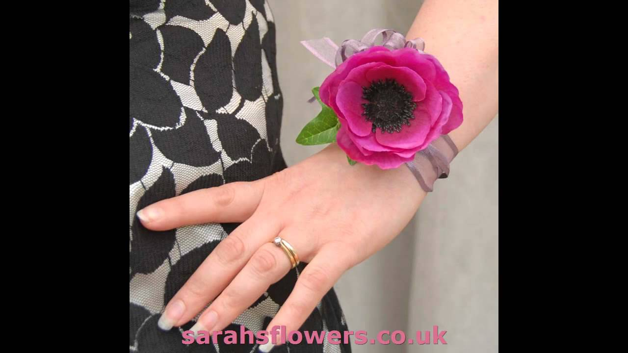 Stunning Hand Made Quality Ribbon Tied Wrist Corsages Choose