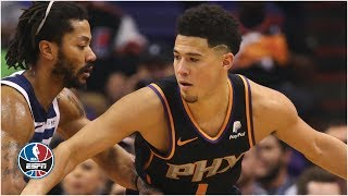 Devin Booker returns, scores 28 in Suns' rally vs. Timberwolves | NBA on ESPN