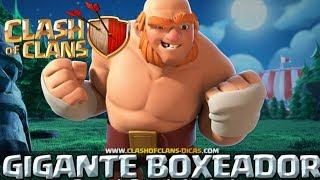 ATACANDO SOLO CON GIGANTE BOXEADOR - Clash of clans