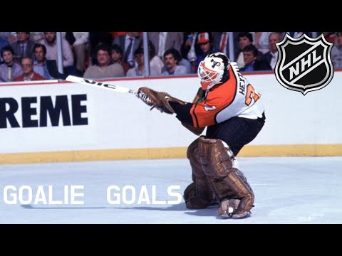 All collection of all NHL goalie goals scored with an SOG