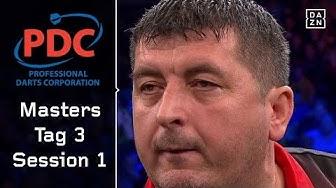 Sensation! Mensur Suljovic besiegt Weltmeister Rob Cross | Highlights | PDC Masters | DAZN