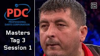 Sensation! Mensur Suljovic besiegt Weltmeister Rob Cross | Highlights | PDC Masters | DAZN