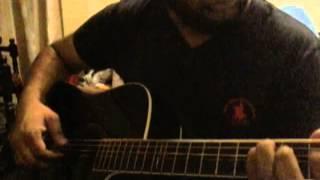 Carter Burwell - A nova vida guitar cover
