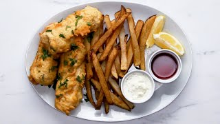 Fresh Fish And Chips That Will Make You Happy • Tasty
