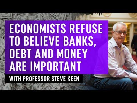 Economists Refuse To Believe Banks, Debt & Money Are Important - Professor Steve Keen