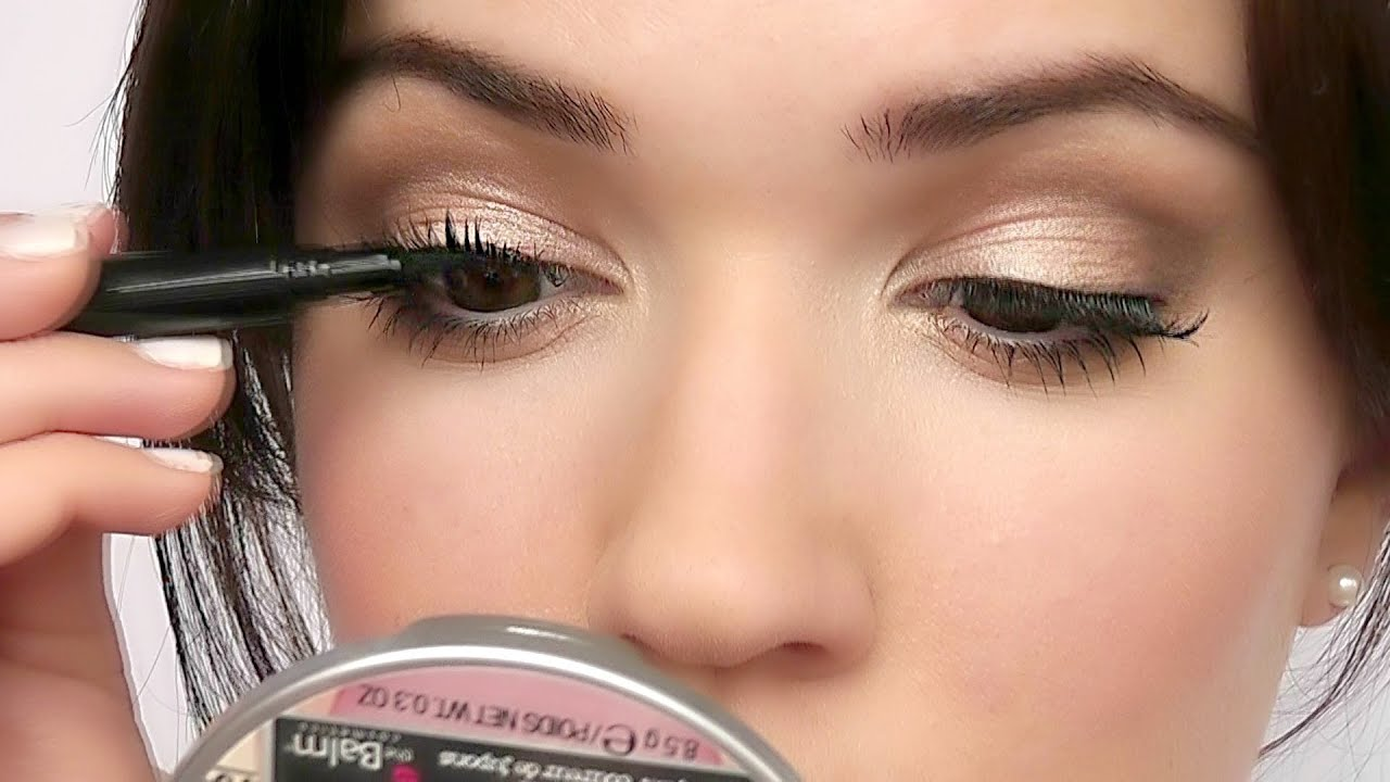 How To Apply False Eyelashes For Beginners Two Easy Ways Youtube