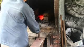 Quenching and Tempering Blade Part 1 - Tuan Haji Md Yusof Sadali