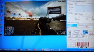 BF4 Played on Intel Core 2 Duo 1.8ghz E6300 - Asus ipibl-lb - Gaming on Old Hardware