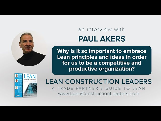 Why is it so important to embrace Lean principles?