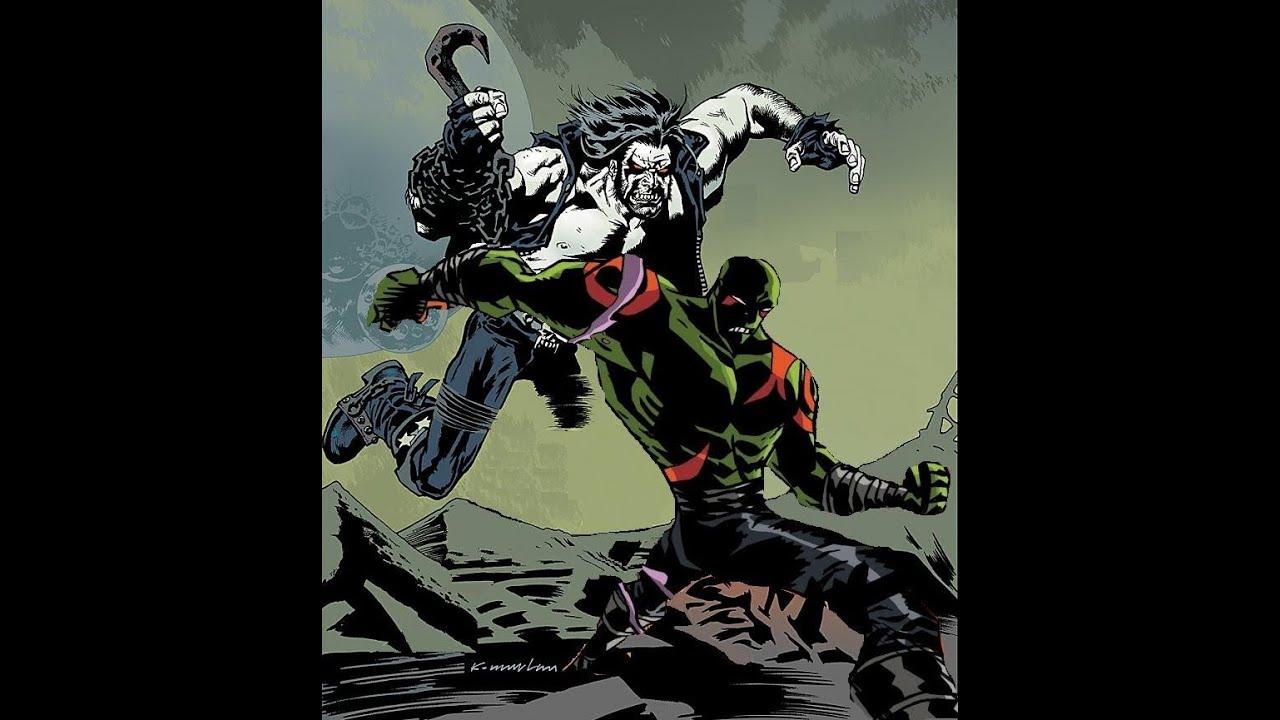 Drax The Destroyer Vs Venom: Grudge Match 21: Drax The Destroyer Vs Lobo