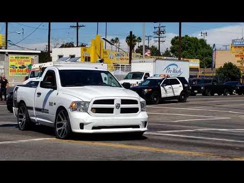 Persecucion En Sur Centro De Los Angeles