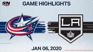 NHL Highlights   Blue Jackets vs Kings – Jan. 6, 2020