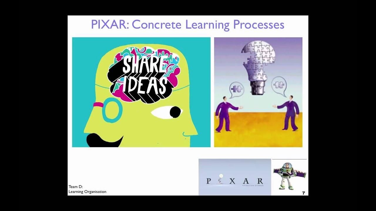 Pixar organizational behaviour
