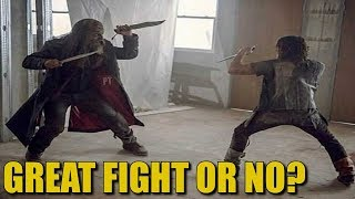 The Walking Dead Best Fight Discussion - Daryl Vs Beta The Best Fight On The Show?