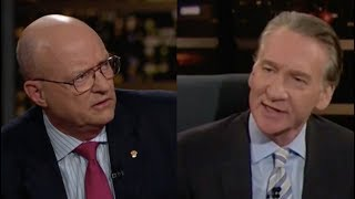 Bill Maher Leads Attack on Larry Wilkerson over Trump Meeting with Putin