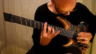 ne obliviscaris and ormsby guitars - benjamin baret presents the goliath gtr multiscale