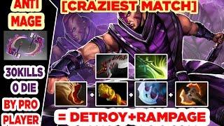 Anti Mage Dota 2 30 Kills 0 Die & Got Rampage