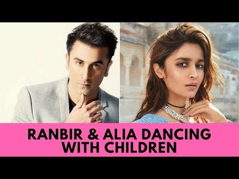 RANBIR AND ALIA DANCING WITH ORPHANED CHILDREN Mp3