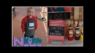 Perth parents throw son a Bunnings birthday