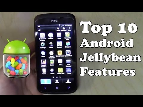 Top 10 Android 4.1 Jellybean Features