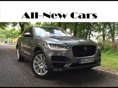 Jaguar F Pace Exterior >> All-new Jaguar F-Pace Portfolio 2.0 D AWD 2016 exterior, interior, driving - YouTube