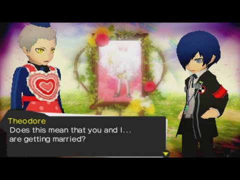 Persona Q: Shadow of the Labyrinth- Theodore's Big Day Scene (P3 & P4 Side)