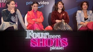 In Conversation With The Cast Of  Four More Shots Please! | VJ Bani, Maanvi , Kirti , Sayani  |