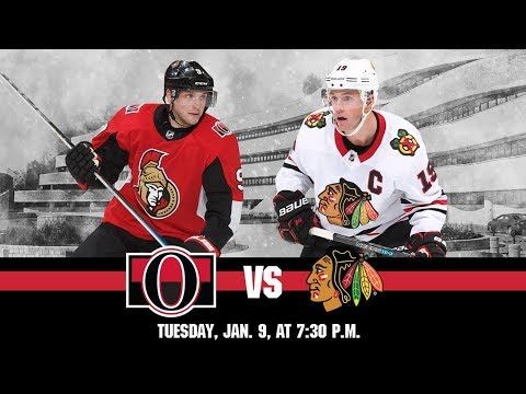 NHL 18 PS4. REGULAR SEASON 2017-2018: Chicago BLACKHAWKS VS Ottawa SENATORS. 01.09.2018. (NBCSN) !