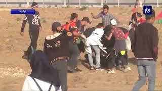 قوات الاحتلال تقمع الحراك الشعبي في غزة والضفة (19-4-2019)