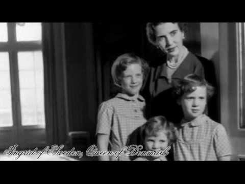♔ Tribute to Ingrid of Sweden, Queen of Denmark ♔
