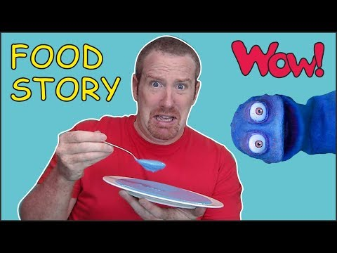 Yummy Food Story time for Kids from Steve and Maggie with Bobby | Speaking with Wow English TV