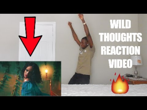 REACTING TO WILD THOUGHTS VIDEO // DJ KHALED FT. RIHANNA & BRYSON TILLER !!