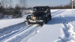 Газ69 снег Чигвинцев