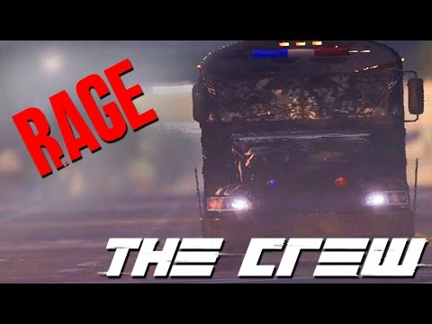 The Crew RAGE OUTTAKES (Prison Bus Mission)