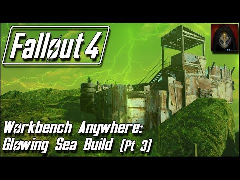 Fallout 4 | GLOWING SEA SETTLEMENT BUILD [Workbench Anywhere] #3 - Sniper's Tower
