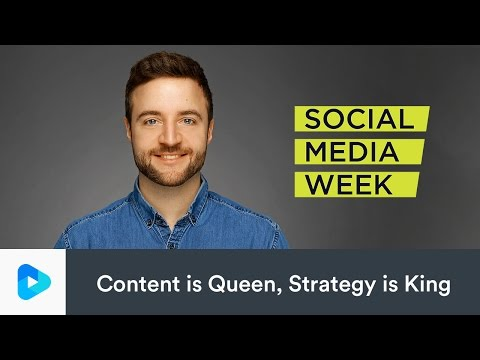 Online-Video-Marketing: Content is Queen, Strategy is King #SMWHH Social Media  Week Hamburg