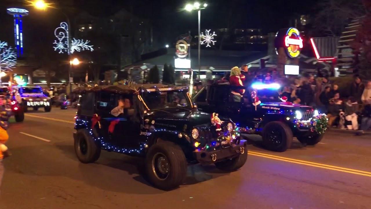 Gatlinburg Christmas Parade.Gatlinburg Christmas Parade 2018