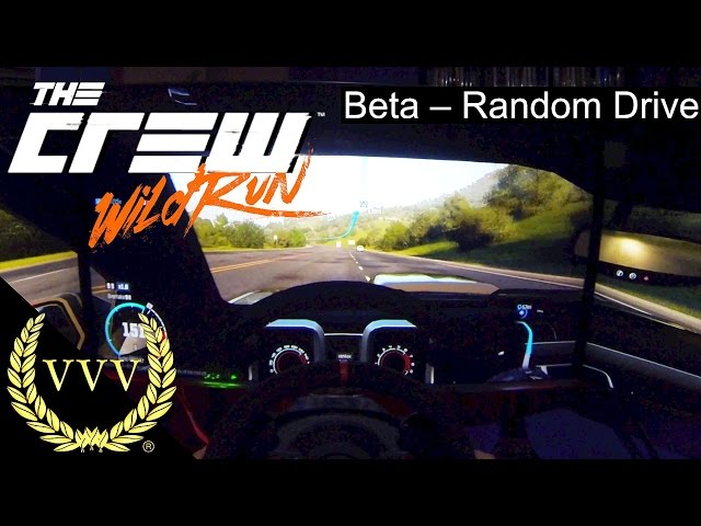 The Crew Wild Run Beta - Random Drive