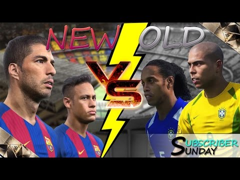 [TTB] PES 2017 - Classic Barcelona Legends VS Modern Day Barcelona - Subscriber Sunday