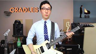 Cradles - Sub Urban on guitar (full cover).