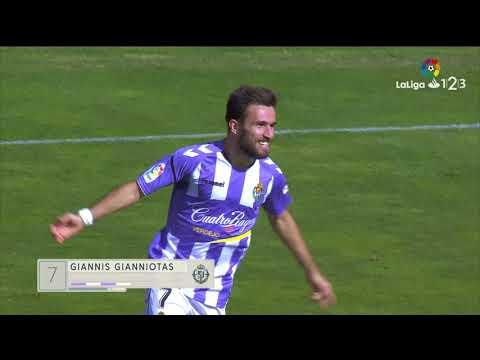 Resumen de Real Valladolid vs Granada CF (2-1)