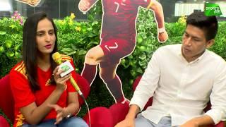 Football WC2018 | Ronaldo, Iniesta, Suárez in action tonight | Sports Tak